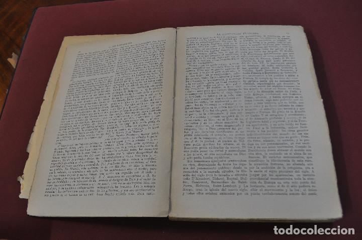 Libros antiguos: 3 tomos la revolucion francesa , historia de los girondinos años 30 , ejemplares intonsos - AHG - Foto 4 - 88604164