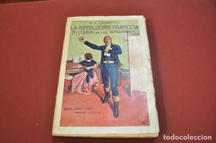 Libros antiguos: 3 tomos la revolucion francesa , historia de los girondinos años 30 , ejemplares intonsos - AHG - Foto 6 - 88604164