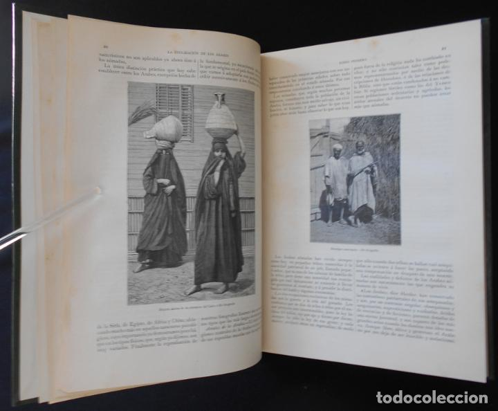 Libros antiguos: PCBROS - LA CIVILIZACIÓN DE LOS ÁRABES - GUSTAVO LE BON - ED. MONTANER Y SIMÓN EDITORES - 1886 - Foto 6 - 88886160