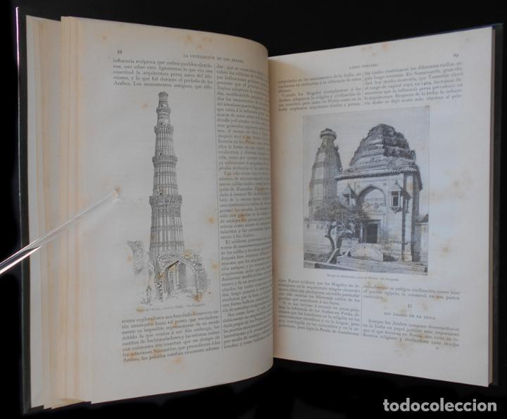 Libros antiguos: PCBROS - LA CIVILIZACIÓN DE LOS ÁRABES - GUSTAVO LE BON - ED. MONTANER Y SIMÓN EDITORES - 1886 - Foto 11 - 88886160
