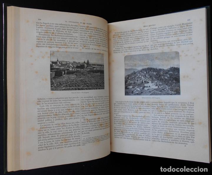 Libros antiguos: PCBROS - LA CIVILIZACIÓN DE LOS ÁRABES - GUSTAVO LE BON - ED. MONTANER Y SIMÓN EDITORES - 1886 - Foto 13 - 88886160