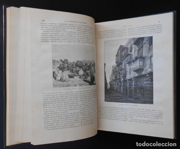 Libros antiguos: PCBROS - LA CIVILIZACIÓN DE LOS ÁRABES - GUSTAVO LE BON - ED. MONTANER Y SIMÓN EDITORES - 1886 - Foto 15 - 88886160