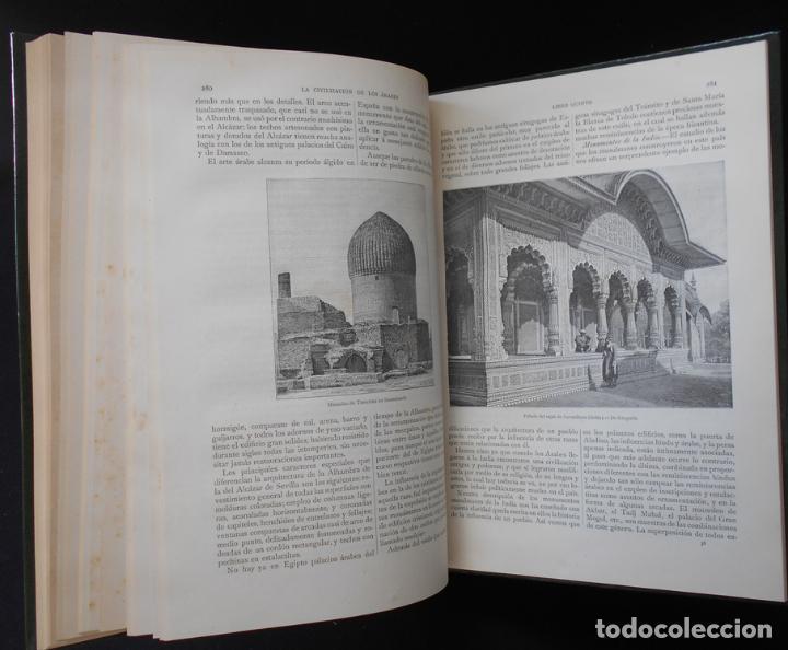 Libros antiguos: PCBROS - LA CIVILIZACIÓN DE LOS ÁRABES - GUSTAVO LE BON - ED. MONTANER Y SIMÓN EDITORES - 1886 - Foto 19 - 88886160