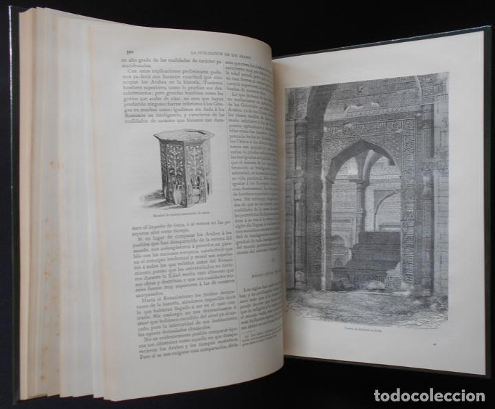 Libros antiguos: PCBROS - LA CIVILIZACIÓN DE LOS ÁRABES - GUSTAVO LE BON - ED. MONTANER Y SIMÓN EDITORES - 1886 - Foto 21 - 88886160