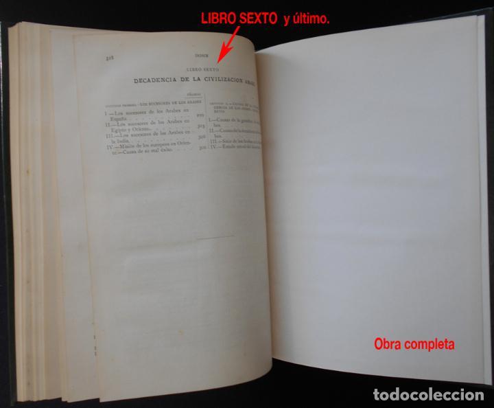 Libros antiguos: PCBROS - LA CIVILIZACIÓN DE LOS ÁRABES - GUSTAVO LE BON - ED. MONTANER Y SIMÓN EDITORES - 1886 - Foto 23 - 88886160