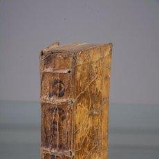Libros antiguos: Q CURTII RUFI - HISTORIA ALEXANDRI MAGNI - EDITIO ACCURATISIMA - HISPALI 1733. Lote 89286484