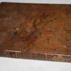 Libros antiguos: HISTORIA DE LA VIDA DEL HOMBRE O HISTORIA DEL UNIVERSO, LIBRO ANTIGUO SIGLO XVIII IMPRENTA REAL 1794. Lote 89484504