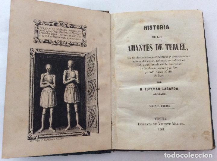 Libro historia de los amantes de teruel esteb comprar - Libros antiguos valor ...
