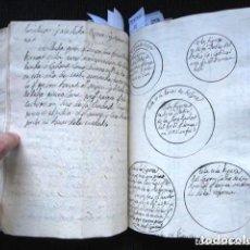 Libros antiguos: AÑO 1773. LIBRO MANUSCRITO HISTORIA Y CURIOSIDADES DE MALLORCA: GENOCIDIO JUDIO, SINAGOGAS, DIEZMOS.. Lote 90439344