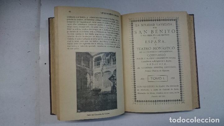 Libros antiguos: Compendio histórico de Segovia (1929-1930) (Tres partes en un volumen) - Foto 8 - 90534500