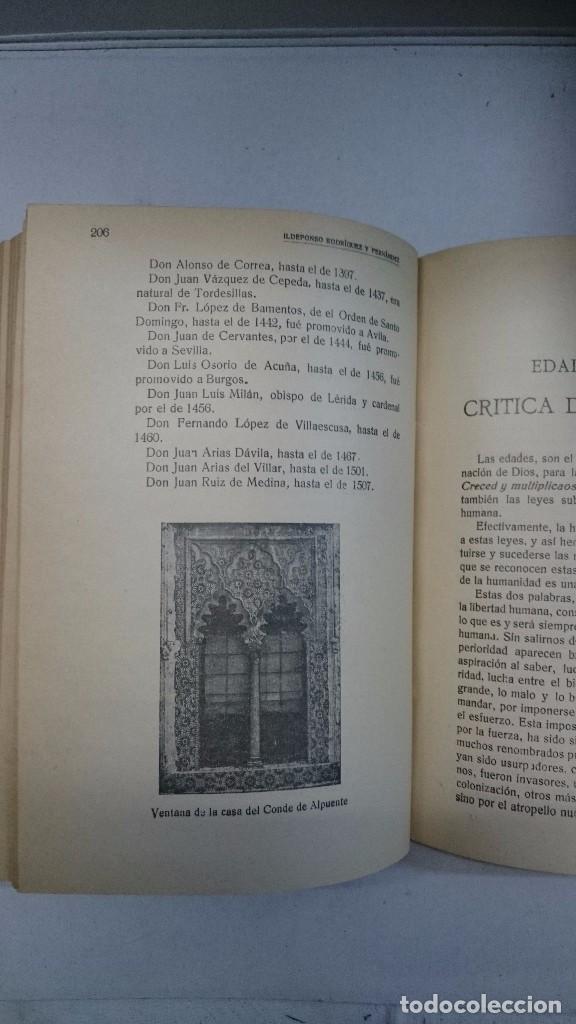 Libros antiguos: Compendio histórico de Segovia (1929-1930) (Tres partes en un volumen) - Foto 9 - 90534500