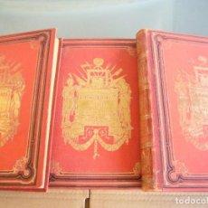 Libros antiguos: REVOLUCION FRANCESA-HISTORIA DE LOS GIRONDINOS-COMPL.3 TOMOS-LAMARTINE-SALVATELLA-1888-LUJO. Lote 94083335