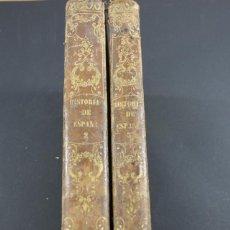 Libros antiguos: HISTORIA GENERAL DE ESPAÑA POR EL PADRE MARIANA, BIBLIOTECA ILUSTRADA GASPAR 1852, TOMOS 2 Y 3. Lote 94114408
