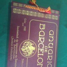 Libros antiguos: ANUARIO DE BARCELONA. Lote 94309212