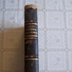 Livros antigos: HISTORIA UNIVERSAL POR CÉSAR CANTÚ. TOMO PRIMERO. TIEMPOS ANTIGUOS. GASPAS Y ROIG, 1866.. Lote 94491814