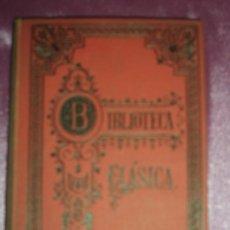 Libros antiguos: CICERON AÑO 1912 BIBLIOTECA CLASICA. Lote 94576571