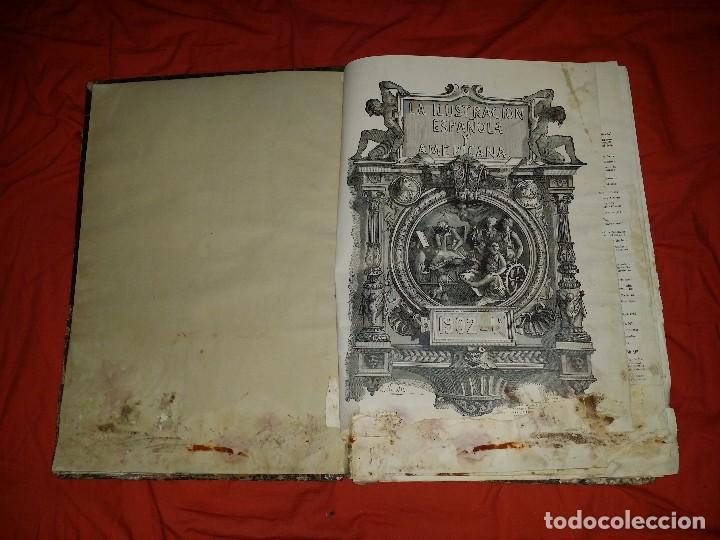 LA ILUSTRACION AMERICANA Y ESPAÑOLA 1902 (PRIMER TOMO) (Libros antiguos (hasta 1936), raros y curiosos - Historia Antigua)