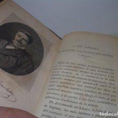 Libros antiguos: TRES TOMOS TAPAS DE PIEL..OBRA COMPLETA...AMAYA.....LOS VASCOS EN EL SIGLO VIII..AÑO..1.897. Lote 94759791