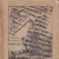 Libros antiguos: LIBRO: HISTORIA DE TARRAGONA - 1892 - BUENAVENTURA HERNANDEZ SANAHUJA. Lote 95031051