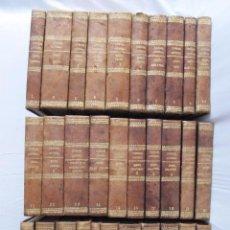 Libros antiguos: ESPECTACULAR LOTE 31 TOMOS PANORAMA UNIVERSAL 1838 - 1845 IMPOSIBLE ENCONTRAR OTRO IGUAL. Lote 95222503