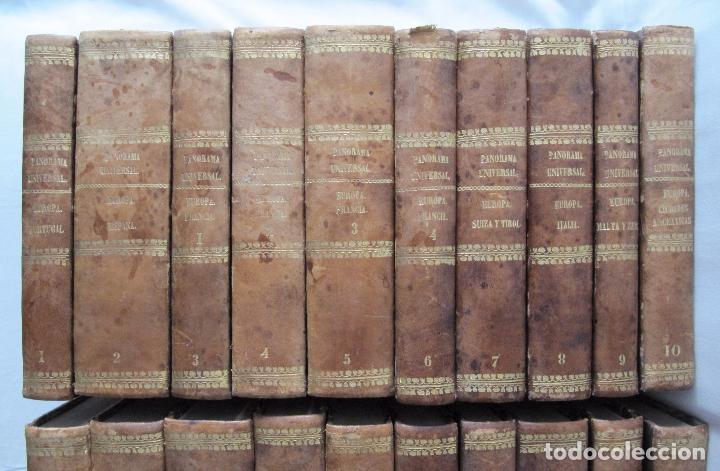 Libros antiguos: ESPECTACULAR LOTE 31 TOMOS PANORAMA UNIVERSAL 1838 - 1845 IMPOSIBLE ENCONTRAR OTRO IGUAL - Foto 2 - 95222503