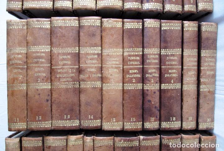 Libros antiguos: ESPECTACULAR LOTE 31 TOMOS PANORAMA UNIVERSAL 1838 - 1845 IMPOSIBLE ENCONTRAR OTRO IGUAL - Foto 3 - 95222503