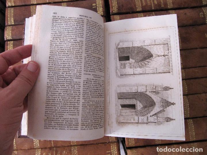 Libros antiguos: ESPECTACULAR LOTE 31 TOMOS PANORAMA UNIVERSAL 1838 - 1845 IMPOSIBLE ENCONTRAR OTRO IGUAL - Foto 6 - 95222503