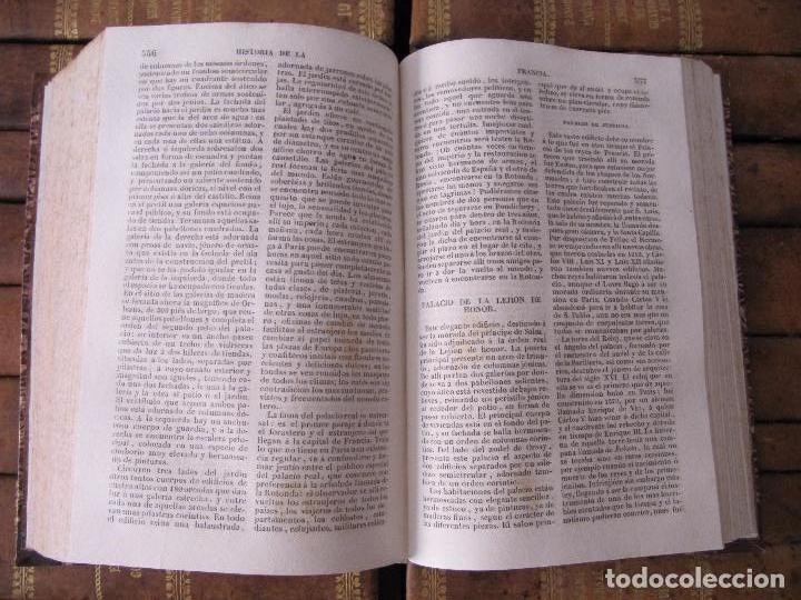 Libros antiguos: ESPECTACULAR LOTE 31 TOMOS PANORAMA UNIVERSAL 1838 - 1845 IMPOSIBLE ENCONTRAR OTRO IGUAL - Foto 12 - 95222503