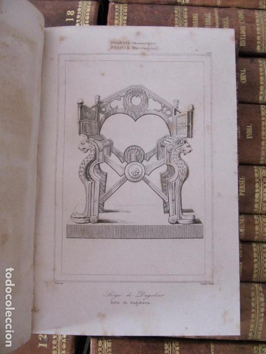 Libros antiguos: ESPECTACULAR LOTE 31 TOMOS PANORAMA UNIVERSAL 1838 - 1845 IMPOSIBLE ENCONTRAR OTRO IGUAL - Foto 16 - 95222503