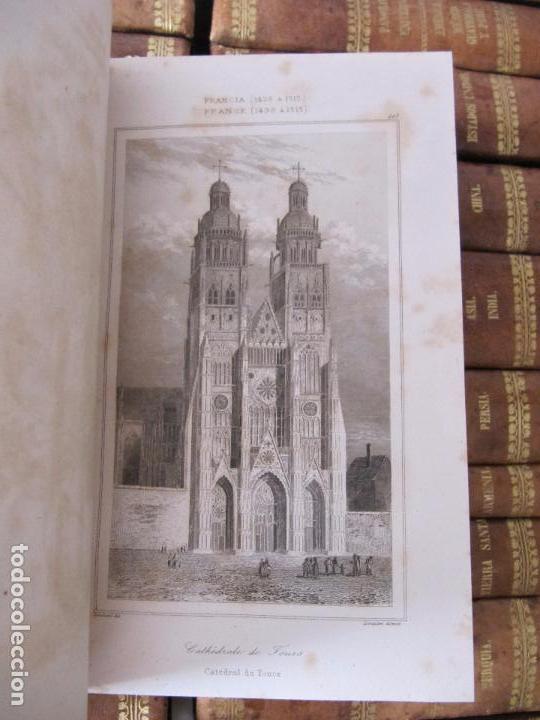 Libros antiguos: ESPECTACULAR LOTE 31 TOMOS PANORAMA UNIVERSAL 1838 - 1845 IMPOSIBLE ENCONTRAR OTRO IGUAL - Foto 18 - 95222503