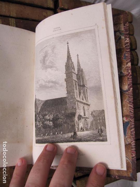 Libros antiguos: ESPECTACULAR LOTE 31 TOMOS PANORAMA UNIVERSAL 1838 - 1845 IMPOSIBLE ENCONTRAR OTRO IGUAL - Foto 21 - 95222503