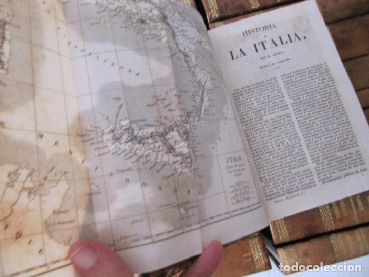 Libros antiguos: ESPECTACULAR LOTE 31 TOMOS PANORAMA UNIVERSAL 1838 - 1845 IMPOSIBLE ENCONTRAR OTRO IGUAL - Foto 23 - 95222503