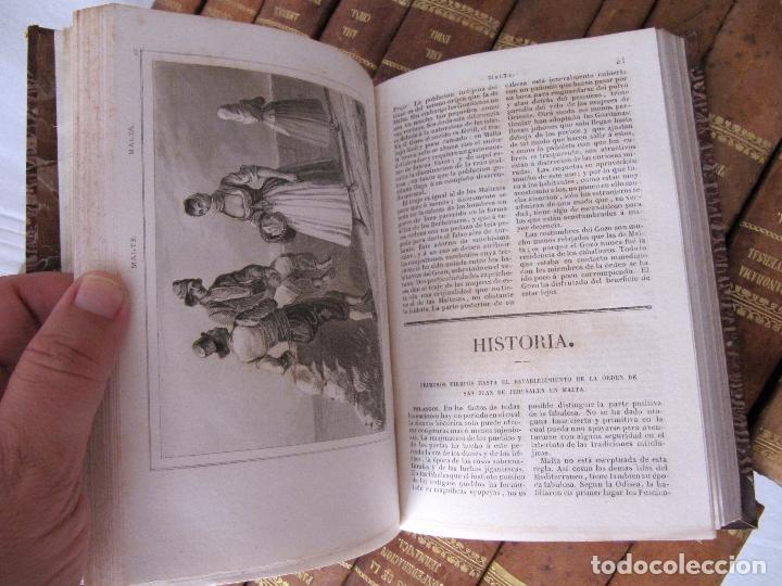Libros antiguos: ESPECTACULAR LOTE 31 TOMOS PANORAMA UNIVERSAL 1838 - 1845 IMPOSIBLE ENCONTRAR OTRO IGUAL - Foto 26 - 95222503