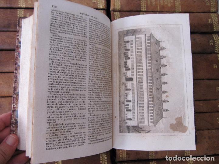Libros antiguos: ESPECTACULAR LOTE 31 TOMOS PANORAMA UNIVERSAL 1838 - 1845 IMPOSIBLE ENCONTRAR OTRO IGUAL - Foto 28 - 95222503