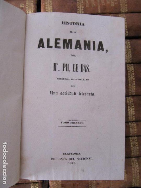 Libros antiguos: ESPECTACULAR LOTE 31 TOMOS PANORAMA UNIVERSAL 1838 - 1845 IMPOSIBLE ENCONTRAR OTRO IGUAL - Foto 29 - 95222503