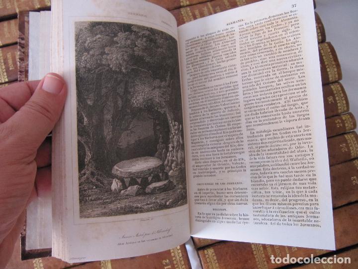 Libros antiguos: ESPECTACULAR LOTE 31 TOMOS PANORAMA UNIVERSAL 1838 - 1845 IMPOSIBLE ENCONTRAR OTRO IGUAL - Foto 31 - 95222503