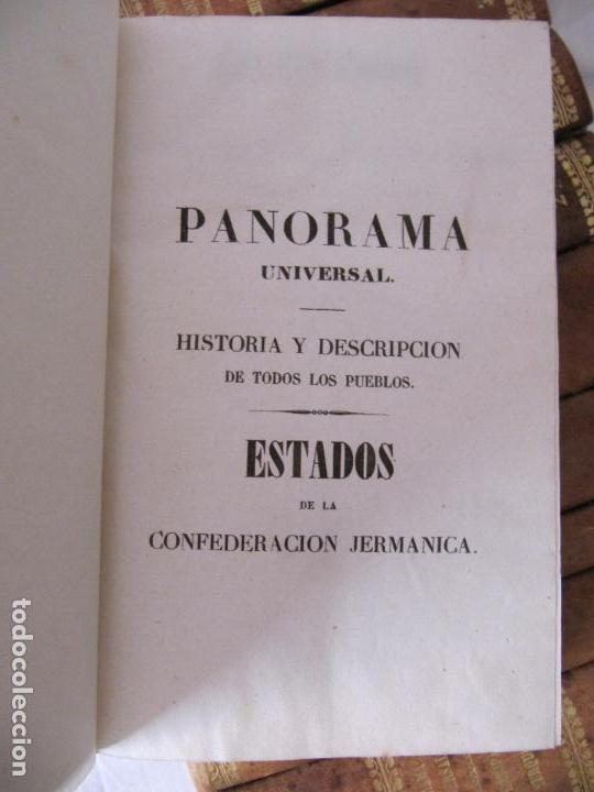 Libros antiguos: ESPECTACULAR LOTE 31 TOMOS PANORAMA UNIVERSAL 1838 - 1845 IMPOSIBLE ENCONTRAR OTRO IGUAL - Foto 35 - 95222503
