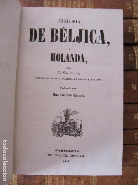 Libros antiguos: ESPECTACULAR LOTE 31 TOMOS PANORAMA UNIVERSAL 1838 - 1845 IMPOSIBLE ENCONTRAR OTRO IGUAL - Foto 38 - 95222503