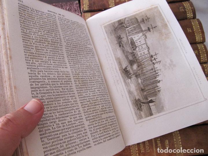 Libros antiguos: ESPECTACULAR LOTE 31 TOMOS PANORAMA UNIVERSAL 1838 - 1845 IMPOSIBLE ENCONTRAR OTRO IGUAL - Foto 47 - 95222503