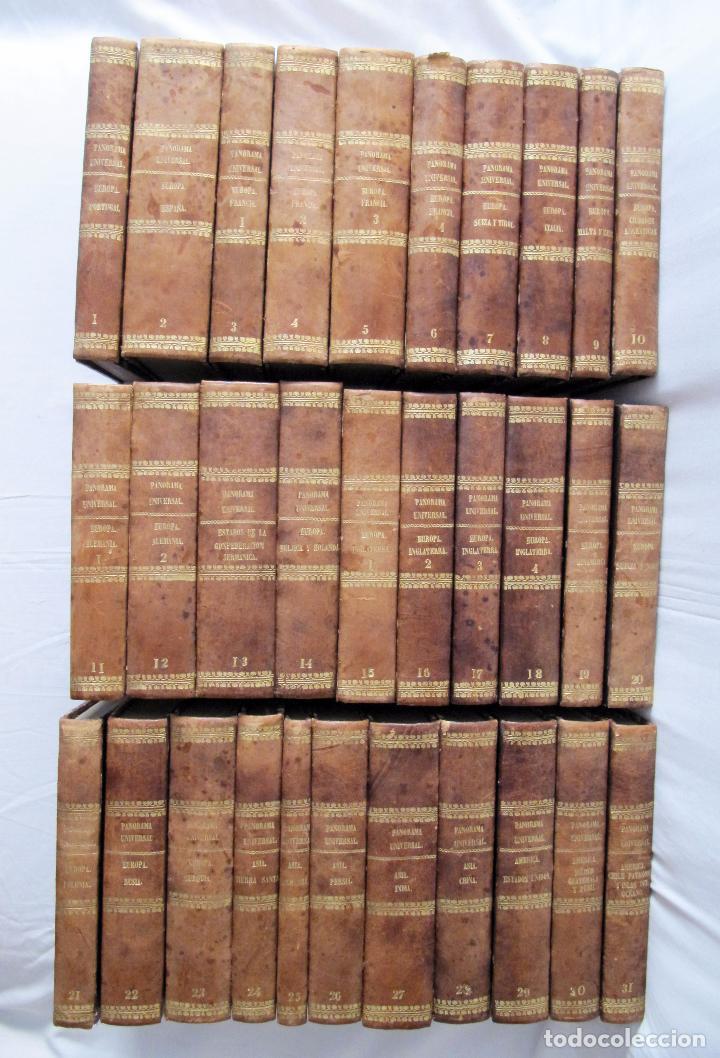Libros antiguos: ESPECTACULAR LOTE 31 TOMOS PANORAMA UNIVERSAL 1838 - 1845 IMPOSIBLE ENCONTRAR OTRO IGUAL - Foto 81 - 95222503
