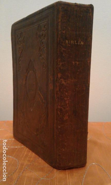 LA SANTA BIBLIA·ANTIGUA VERSION DE CIPRIANO DE VALERA AÑO 1876 - BIBLIA PROTESTANTE. (Libros antiguos (hasta 1936), raros y curiosos - Historia Antigua)