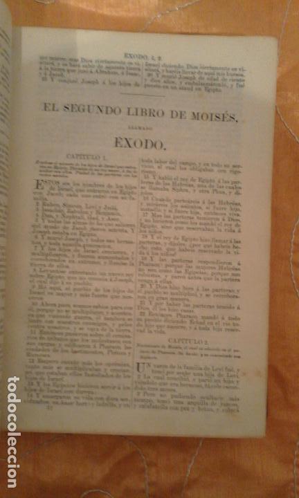 Libros antiguos: LA SANTA BIBLIA·ANTIGUA VERSION DE CIPRIANO DE VALERA AÑO 1876 - BIBLIA PROTESTANTE. - Foto 4 - 95226311