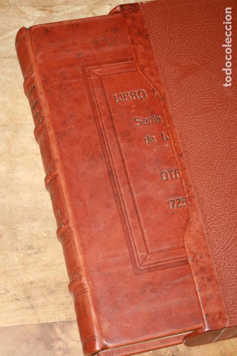 Libros antiguos: LIBRO GRANDE MANUSCRITO INEDITO DE CUENTA Y RAZON SANTA MARIA DE LLOVERA OTAÑES CASTRO-URDIALES - Foto 2 - 95672383