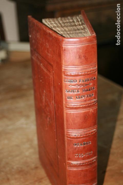 Libros antiguos: LIBRO GRANDE MANUSCRITO INEDITO DE CUENTA Y RAZON SANTA MARIA DE LLOVERA OTAÑES CASTRO-URDIALES - Foto 3 - 95672383