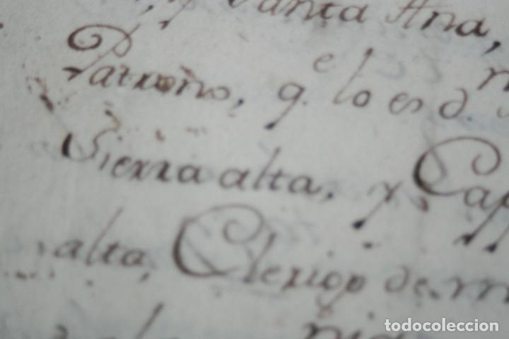 Libros antiguos: LIBRO GRANDE MANUSCRITO INEDITO DE CUENTA Y RAZON SANTA MARIA DE LLOVERA OTAÑES CASTRO-URDIALES - Foto 12 - 95672383