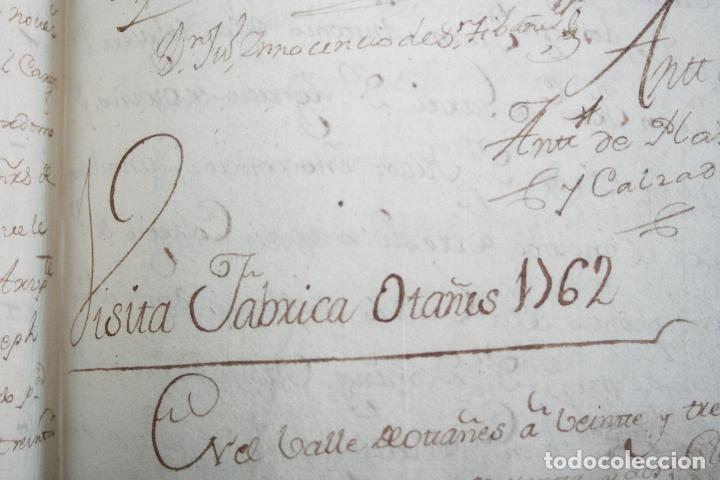 Libros antiguos: LIBRO GRANDE MANUSCRITO INEDITO DE CUENTA Y RAZON SANTA MARIA DE LLOVERA OTAÑES CASTRO-URDIALES - Foto 14 - 95672383