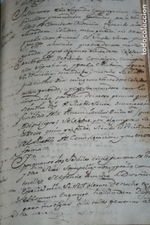Libros antiguos: LIBRO GRANDE MANUSCRITO INEDITO DE CUENTA Y RAZON SANTA MARIA DE LLOVERA OTAÑES CASTRO-URDIALES - Foto 18 - 95672383