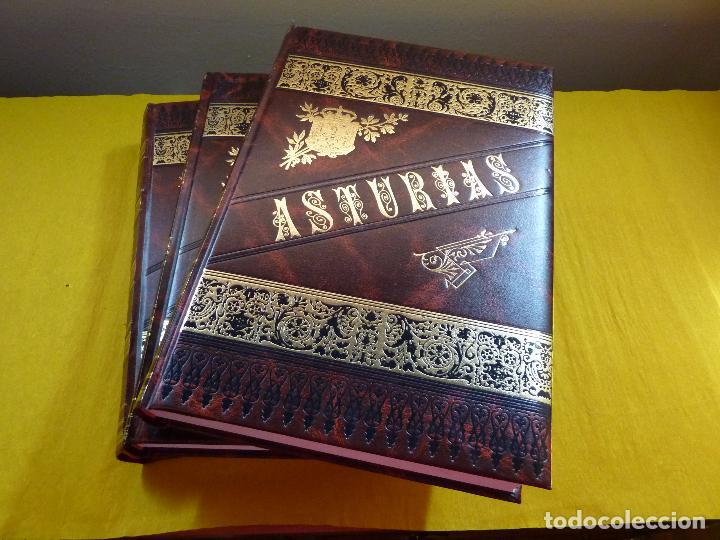 ASTURIAS OCTAVIO BELLMUNT Y FERMIN CANELLA - 3 TOMOS - COMPLETO - COMO NUEVO - FASCIMIL (Libros antiguos (hasta 1936), raros y curiosos - Historia Antigua)