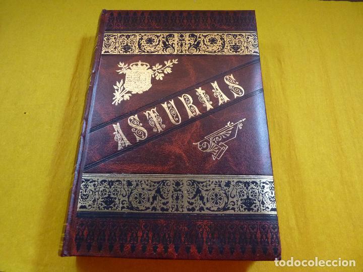 Libros antiguos: ASTURIAS Octavio Bellmunt y Fermin Canella - 3 tomos - Completo - Como nuevo - Fascimil - Foto 4 - 96072155