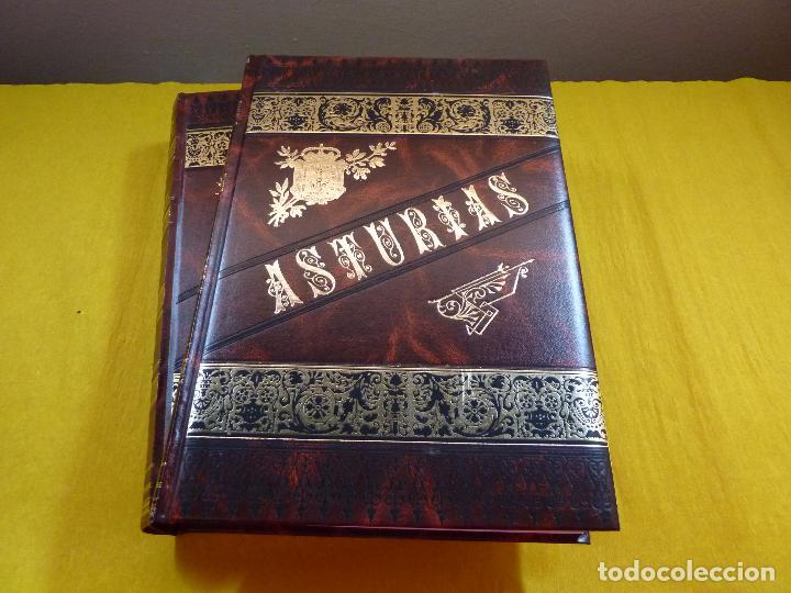 Libros antiguos: ASTURIAS Octavio Bellmunt y Fermin Canella - 3 tomos - Completo - Como nuevo - Fascimil - Foto 5 - 96072155